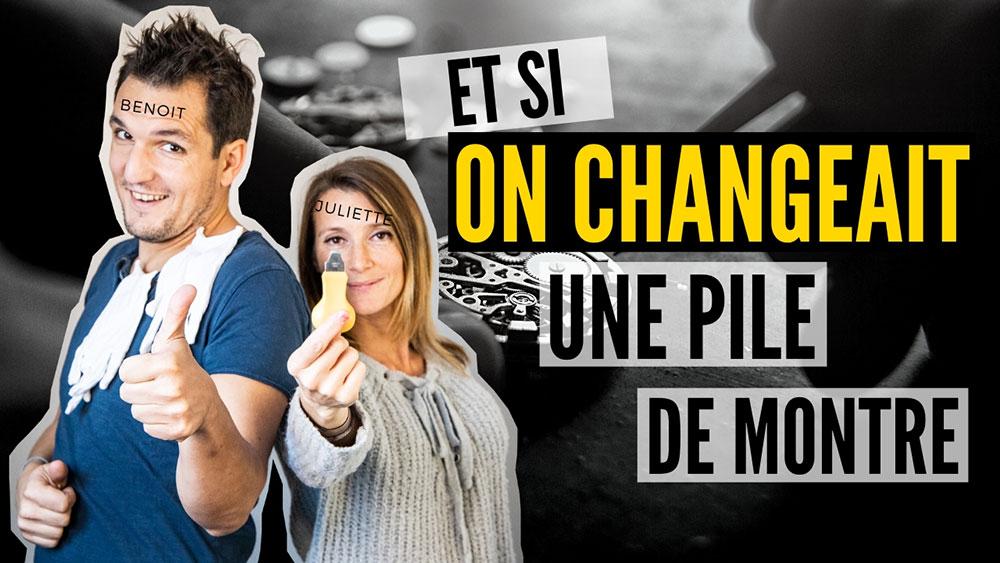 19.11.2019 - Comment changer la pile d'une montre en 2 minutes ?