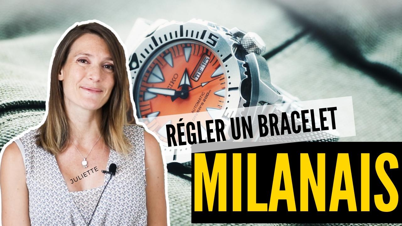 31.05.2020 - Régler un bracelet milanais