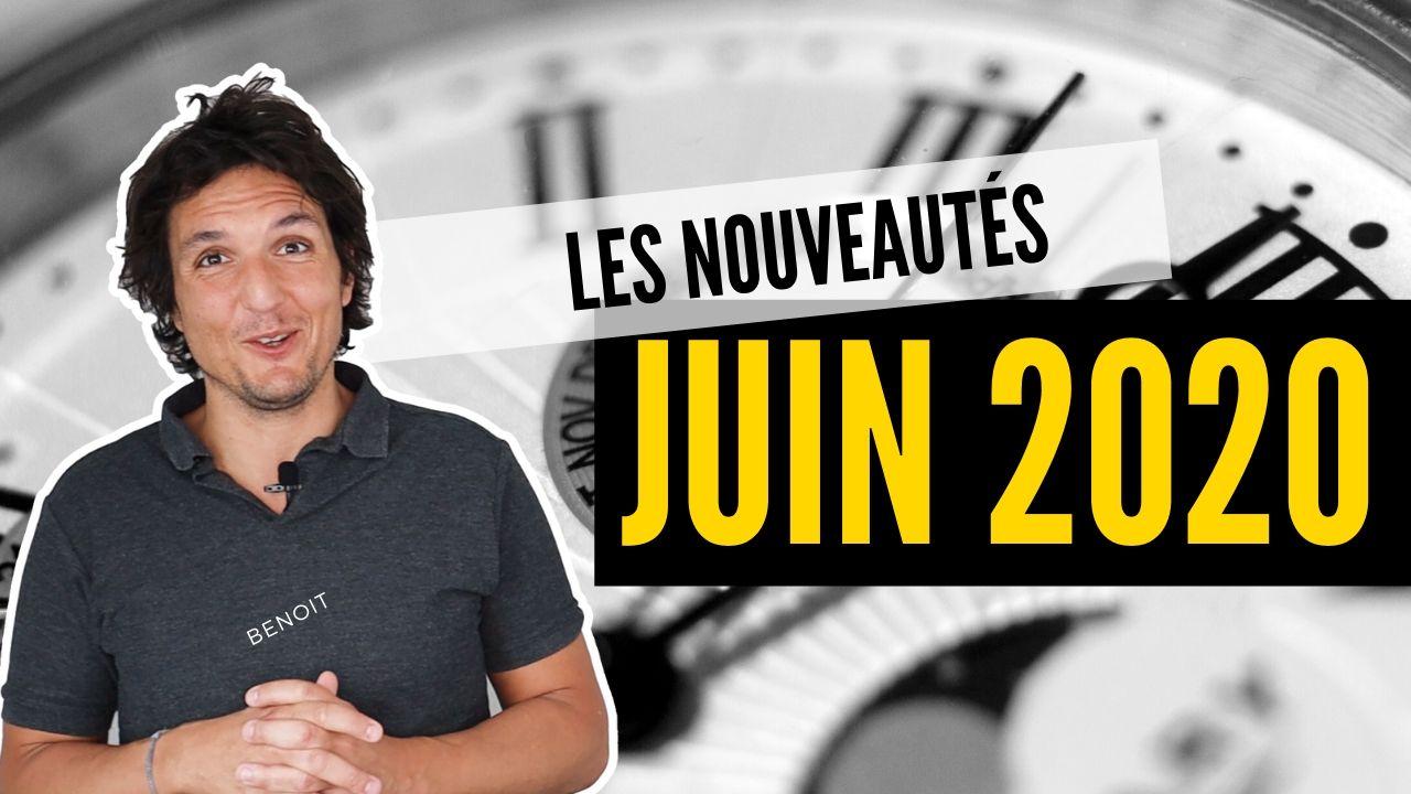 04.06.2020 - Les Nouveautés pour Juin sont là