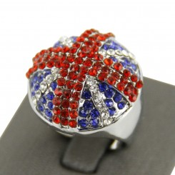 Belle Bague Union Jack...