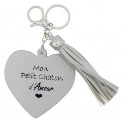 "Adorable Porte-Clés ""Mon..."