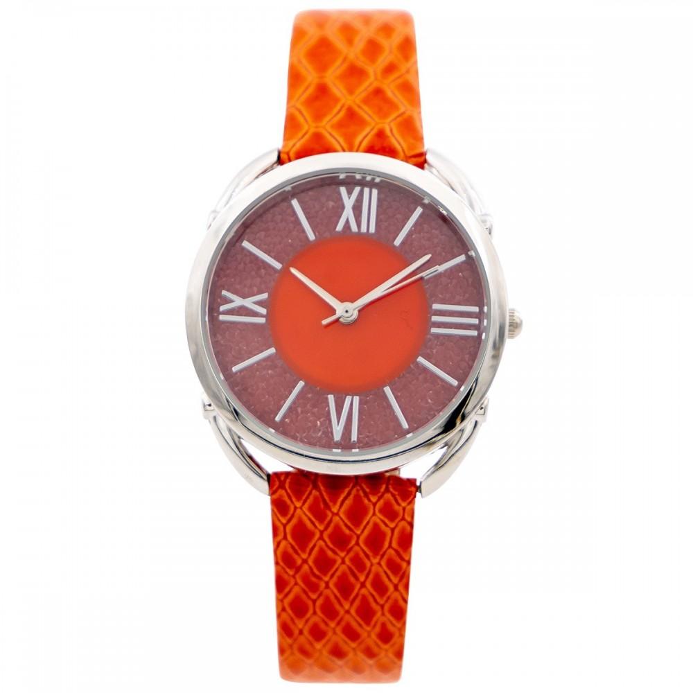 Montre Femme Orange M. JOHN