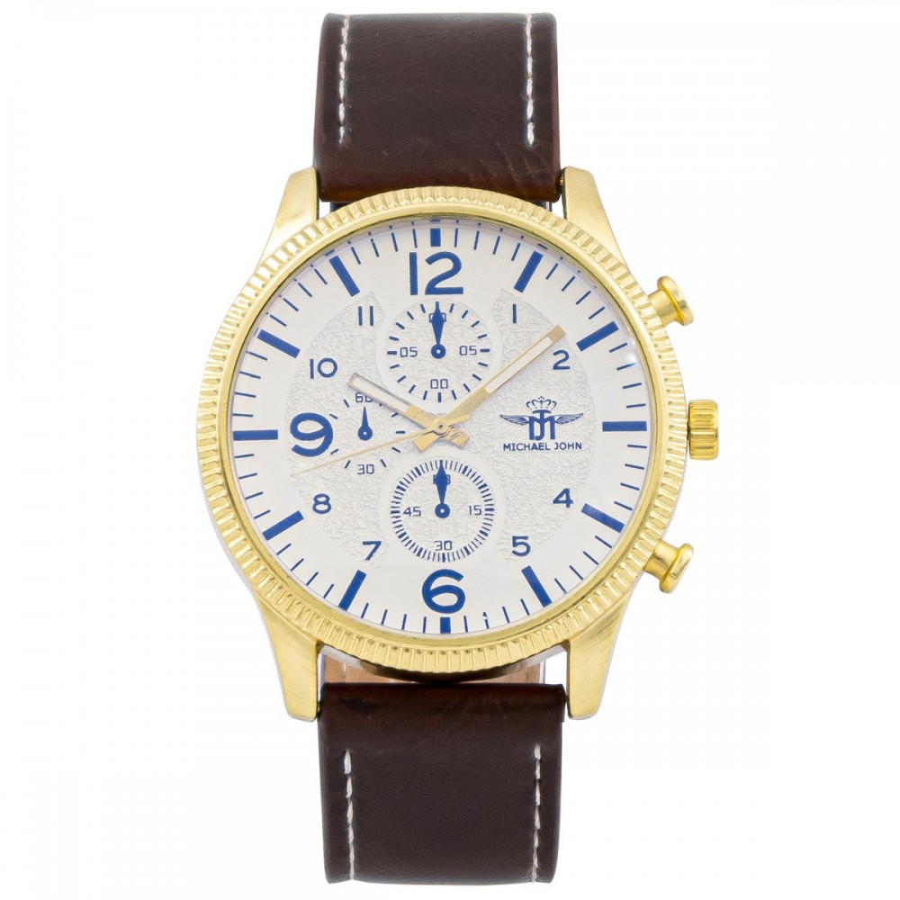 Montre Homme Marron M. JOHN