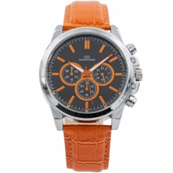 Coffret Montre Homme Orange GIORGIO