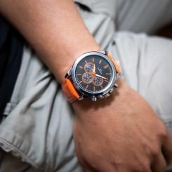 Coffret Montre Homme Orange GIORGIO
