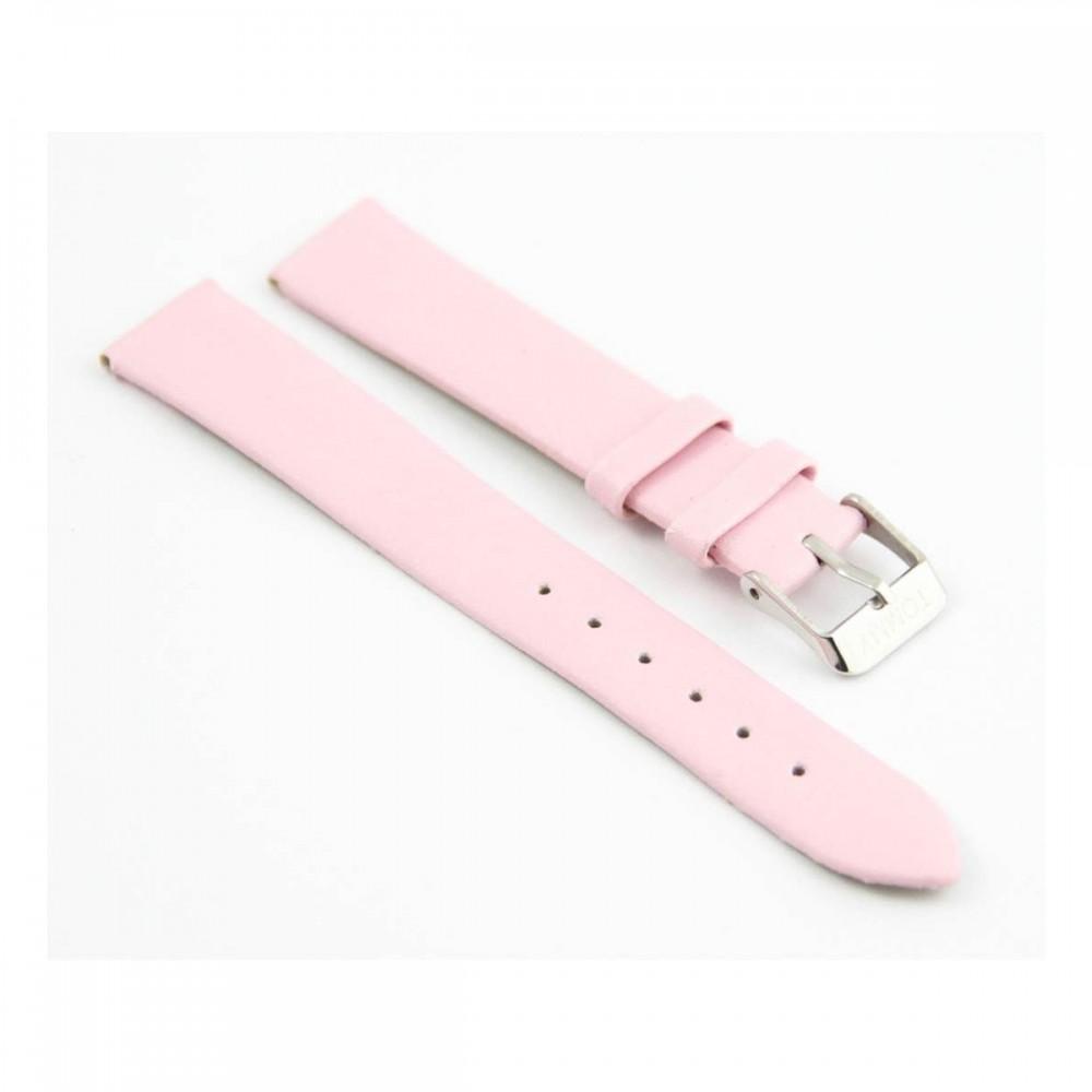 Bracelet pour montre en synthétique Rose 16mm